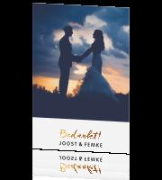 2993f3b2cf7 Bedankkaarten bruiloft | 400.000+ tevreden klanten | POOBIES.NL