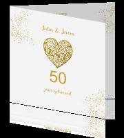 Uitnodigingen 50 Jaar Getrouwd 16 Jaar Ervaring Poobies Nl