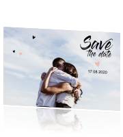 Lieve save-the-date-kaart
