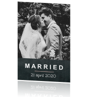 Stoere kaart - Married