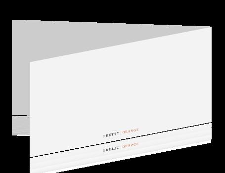 Uitgelezene Dubbele panorama verhuiskaart zelf maken QR-66